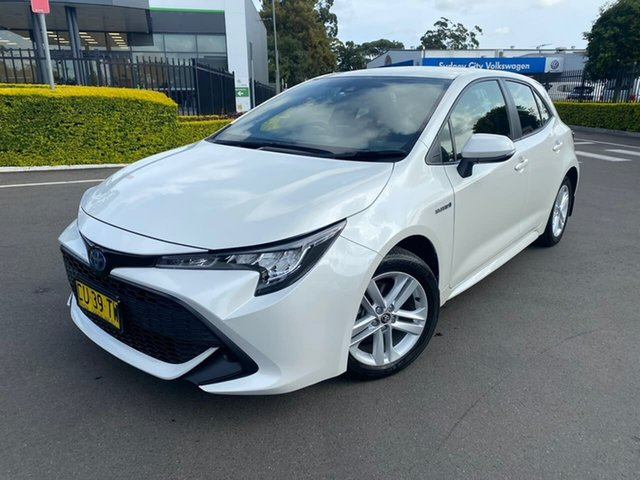 Used Toyota Corolla ZWE211R Ascent Sport E-CVT Hybrid Botany, 2019 Toyota Corolla ZWE211R Ascent Sport E-CVT Hybrid 10 Speed Constant Variable Hatchback Hybrid