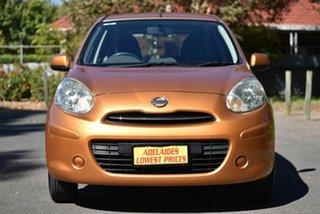 2011 Nissan Micra K13 ST Gold 5 Speed Manual Hatchback.