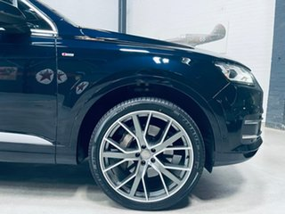 2016 Audi Q7 4M MY17 TDI Tiptronic Quattro Blue 8 Speed Sports Automatic Wagon.
