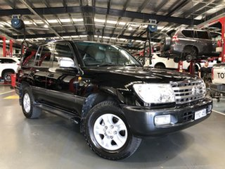 2005 Toyota Landcruiser HDJ100R Upgrade Sahara (4x4) Ebony 5 Speed Automatic Wagon.