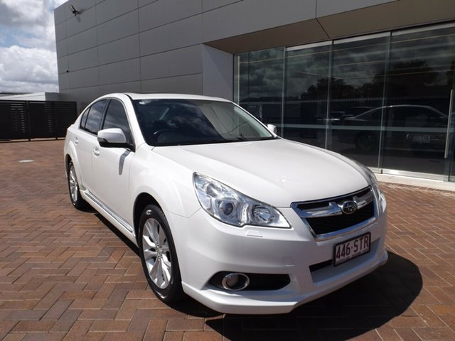 Used Subaru Liberty B5 MY13 2.5X Lineartronic AWD Toowoomba, 2012 Subaru Liberty B5 MY13 2.5X Lineartronic AWD White 6 Speed Constant Variable Sedan
