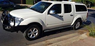 2012 Nissan Navara D40 MY12 ST-X 550 (4x4) 7 Speed Automatic Dual Cab Utility
