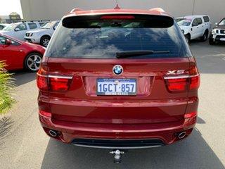 2012 BMW X5 E70 MY12.5 xDrive30d Steptronic Maroon 8 Speed Sports Automatic Wagon.
