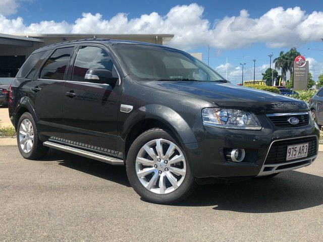 Used Ford Territory SY MkII Ghia RWD Garbutt, 2009 Ford Territory SY MkII Ghia RWD Grey 4 Speed Sports Automatic Wagon