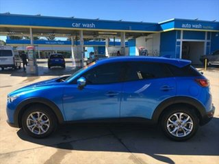 2015 Mazda CX-3 DK2W7A Maxx SKYACTIV-Drive Dynamic Blue 6 Speed Sports Automatic Wagon