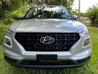 2021 Hyundai Venue QX.V3 MY21 Active Typhoon Silver 6 Speed Automatic Wagon.