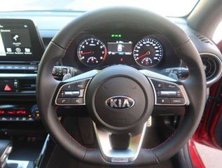 2019 Kia Cerato BD MY19 GT DCT Red 7 Speed Sports Automatic Dual Clutch Hatchback