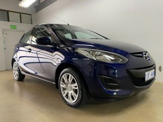 2012 Mazda 2 DE MY12 Neo Blue 4 Speed Automatic Hatchback.
