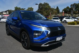 2020 Mitsubishi Eclipse Cross YB MY21 Aspire 2WD Lightning Blue 8 Speed Constant Variable Wagon.