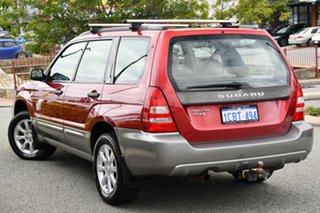 2005 Subaru Forester 79V MY05 XS AWD Red 4 Speed Automatic Wagon.