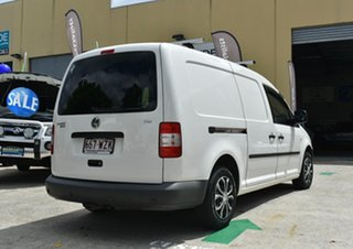 2008 Volkswagen Caddy 2K MY09 Maxi Life White 6 Speed Direct Shift Wagon