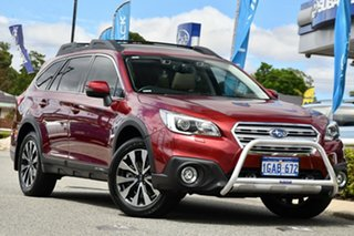 2016 Subaru Outback B6A MY16 2.5i CVT AWD Premium Venetian Red 6 Speed Constant Variable Wagon.