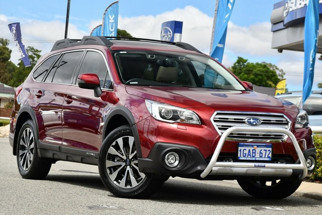 Used Subaru Outback B6A MY16 2.5i CVT AWD Premium Melville, 2016 Subaru Outback B6A MY16 2.5i CVT AWD Premium Venetian Red 6 Speed Constant Variable Wagon