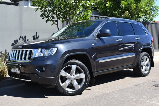 Used Jeep Grand Cherokee WK MY2012 Overland Brighton, 2012 Jeep Grand Cherokee WK MY2012 Overland Grey 5 Speed Sports Automatic Wagon