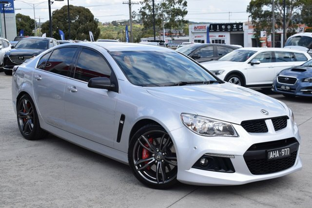Used Holden Special Vehicles ClubSport Gen-F MY14 R8 Ferntree Gully, 2014 Holden Special Vehicles ClubSport Gen-F MY14 R8 Silver 6 Speed Sports Automatic Sedan