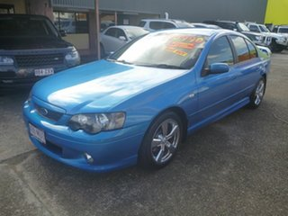 2003 Ford Falcon BA XR6 Turbo Blue 4 Speed Sports Automatic Sedan