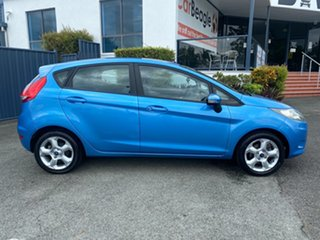 2009 Ford Fiesta WS LX Blue 5 Speed Manual Hatchback.