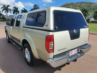 2010 Nissan Navara D40 ST Yellowish 6 Speed Manual Utility