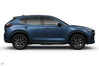 2021 Mazda CX-5 KF4WLA GT SKYACTIV-Drive i-ACTIV AWD Blue 6 Speed Sports Automatic Wagon