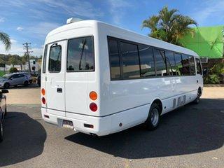 2010 Mitsubishi Fuso Rosa BE64D Base White Bus 4.9l RWD.
