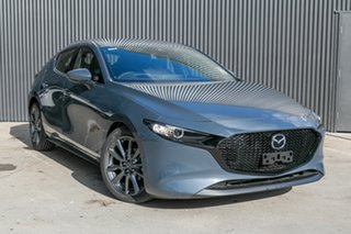 2020 Mazda 3 BP2H7A G20 SKYACTIV-Drive Touring Polymetal Grey 6 Speed Sports Automatic Hatchback.