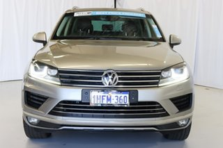 2017 Volkswagen Touareg 7P MY17 150TDI Tiptronic 4MOTION Element Grey 8 Speed Sports Automatic Wagon
