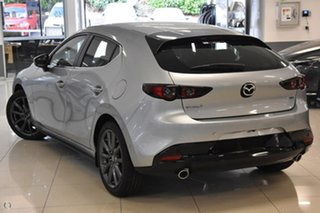 2021 Mazda 3 BP2H7A G20 SKYACTIV-Drive Evolve Silver 6 Speed Sports Automatic Hatchback