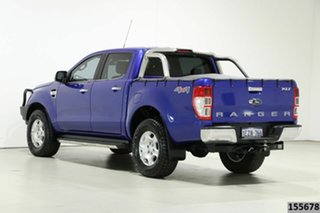 2016 Ford Ranger PX MkII XLT 3.2 (4x4) Blue 6 Speed Manual Double Cab Pick Up