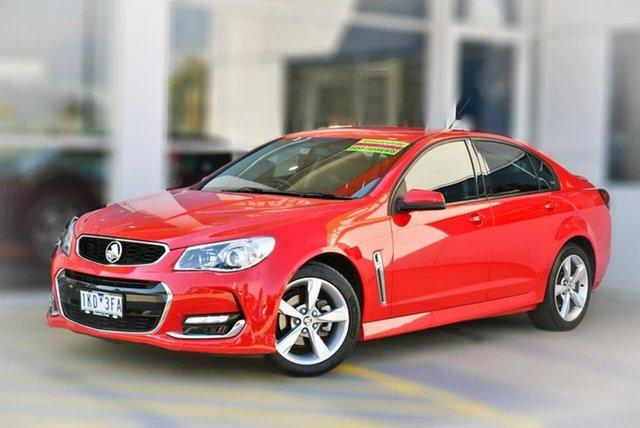 Used Holden Commodore VF II MY16 SV6 Berwick, 2016 Holden Commodore VF II MY16 SV6 Red 6 Speed Sports Automatic Sedan
