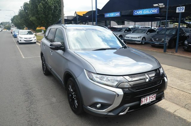 Used Mitsubishi Outlander ZL MY20 Black Edition 7 Seat (2WD) Toowoomba, 2019 Mitsubishi Outlander ZL MY20 Black Edition 7 Seat (2WD) Grey Continuous Variable Wagon