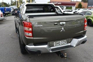 2016 Mitsubishi Triton MQ MY17 GLS Double Cab Grey 6 Speed Manual Utility.