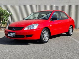 2007 Mitsubishi Lancer CH MY07 ES Red 5 Speed Manual Sedan