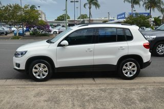 2013 Volkswagen Tiguan 5NC MY14 132 TSI Pacific White 7 Speed Auto Direct Shift Wagon