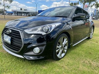 2017 Hyundai Veloster FS5 Series II SR Coupe D-CT Turbo Phantom Black 7 Speed