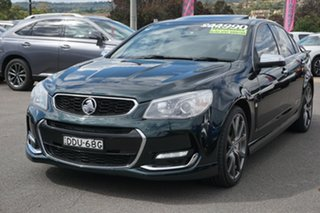 2013 Holden Commodore VF MY14 SS V Redline Green 6 Speed Sports Automatic Sedan