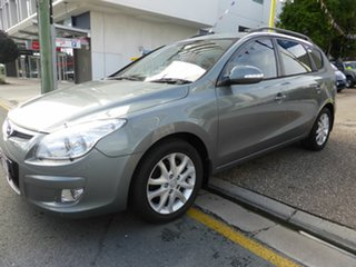 2010 Hyundai i30 FD MY10 CW SLX 1.6 CRDi Grey 4 Speed Automatic Wagon.