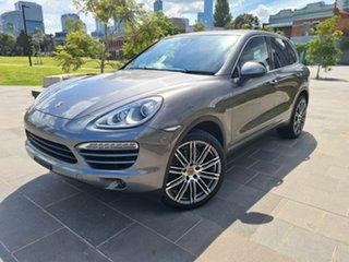 2014 Porsche Cayenne 92A MY14 Diesel Tiptronic Grey 8 Speed Sports Automatic Wagon.