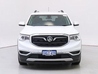 2019 Holden Acadia AC MY19 LTZ (2WD) White 9 Speed Automatic Wagon.