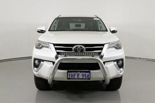 2015 Toyota Fortuner GUN156R Crusade White 6 Speed Manual Wagon