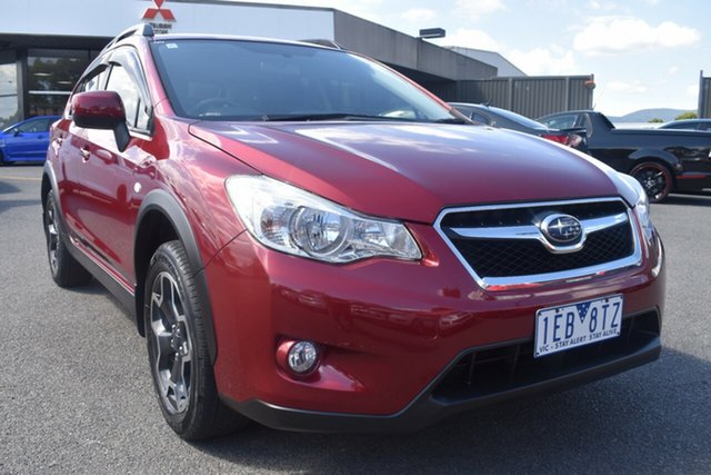 Used Subaru XV G4X MY14 2.0i-L Lineartronic AWD Wantirna South, 2014 Subaru XV G4X MY14 2.0i-L Lineartronic AWD Red/Black 6 Speed Constant Variable Wagon