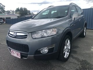 2011 Holden Captiva CG MY10 LX AWD Silver 5 Speed Sports Automatic Wagon