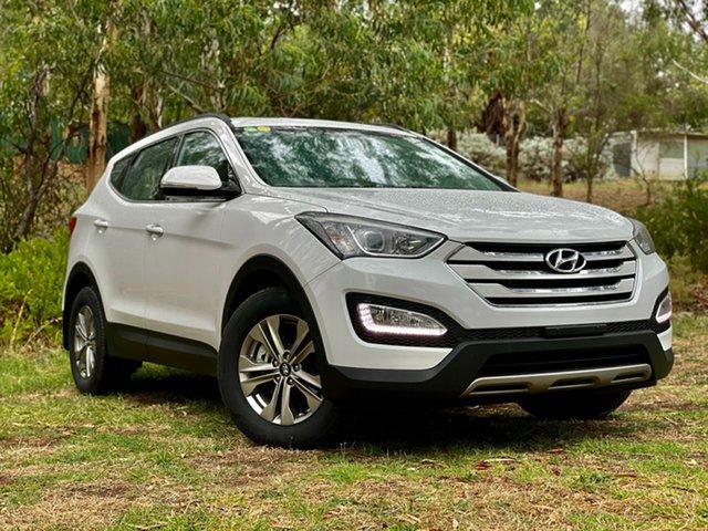 Used Hyundai Santa Fe DM2 MY15 Active Reynella, 2015 Hyundai Santa Fe DM2 MY15 Active Creamy White 6 Speed Sports Automatic Wagon