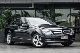 2009 Mercedes-Benz C-Class W204 C200 Kompressor Avantgarde Blue 5 Speed Sports Automatic Sedan.
