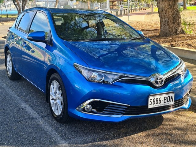 Used Toyota Corolla ZRE182R Ascent Sport S-CVT Nailsworth, 2016 Toyota Corolla ZRE182R Ascent Sport S-CVT Blue 7 Speed Constant Variable Hatchback