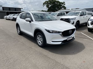 2017 Mazda CX-5 KF4WLA Maxx SKYACTIV-Drive i-ACTIV AWD White Pearl 6 Speed Sports Automatic Wagon.