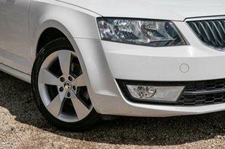 2016 Skoda Octavia NE MY17 Ambition Sedan DSG 110TSI White 7 Speed Sports Automatic Dual Clutch.