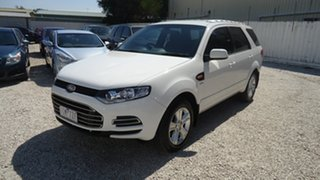 2011 Ford Territory SZ TX Seq Sport Shift AWD White 6 Speed Sports Automatic Wagon.