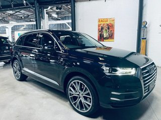 2016 Audi Q7 4M MY17 TDI Tiptronic Quattro Blue 8 Speed Sports Automatic Wagon