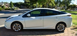 2018 Toyota Prius ZVW50R I-Tech White 1 Speed Constant Variable Liftback Hybrid