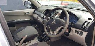 2008 Mitsubishi Triton ML MY09 GLX-R (4x4) Silent Silver 5 Speed Manual 4x4 Double Cab Utility